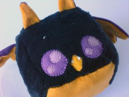 Halloween Vampire Bat Cube Plush by Pwyllo