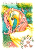 Flutteryshy Wyvern by CassieFrese