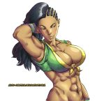 Laura - Street FIghter V (Color Version) by Mick-cortes