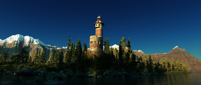 Lighthouse by Six-Kings