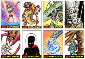 Heritage Mars Attacks! Sketch Cards - 05 by Monster-Man-08