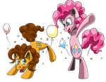 Party Ponies ! by Obisam