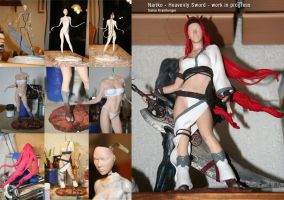 NARIKO - Heavenly Sword - WIP by 123samo