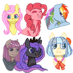 best pones in mlp show by nubblebubble123