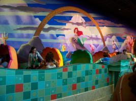 Inside the Little Mermaid Ride by anniemae04