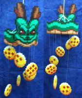 Dragon Ball Shenron movil Hama by Hamamia