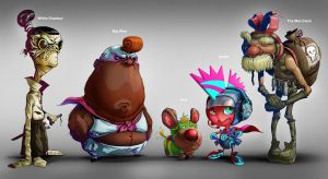 Characters Test by lordeeas