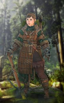 The Squire Lvl3 game character by NatteRavnen