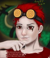 Jack Spicer (redrawn) by BlackAngelLucia