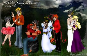A Cullen Halloween by Crowmamma
