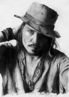 Johnny Depp by Rocket-Ronnie