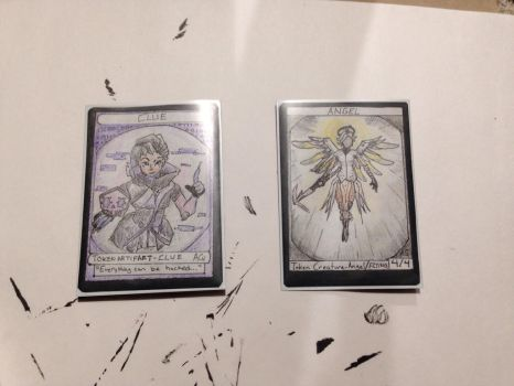 Overwatch themed MTG tokens! by Adrianator334