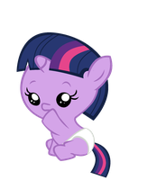 Baby Twilight by Bronyboy