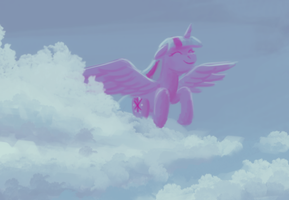 Twilight in the sky by Sa1ntMax