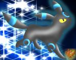 Shiney Umbreon .:prize:. by PokeHeart