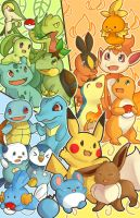 POKEMON POKEMON POKEMONNN by Myku