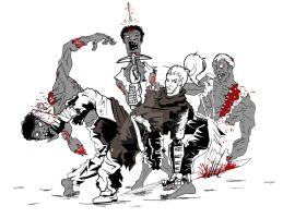 more zombies by nucularman