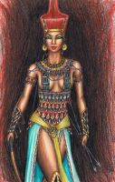 The Goddess Neith by MyWorld1