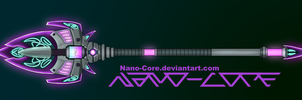 Neon Spear Weapon Adopt (closed) by Nano-Core