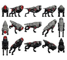 Mass Effect 2, FENRIS Mech Reference. by Troodon80