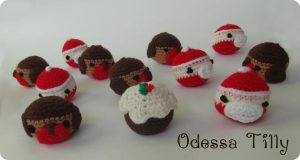 Crochet Christmas Baubles by odessatilly