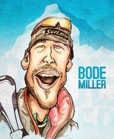 Bode Miller - Caricature by libran005