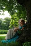 Under a Tree 35 by MarjoleinART-Stock