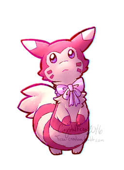 Shiny Furret by CrystalFeza