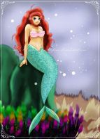 _Ariel_The little Mermaid_ by ValeriaDiStefano