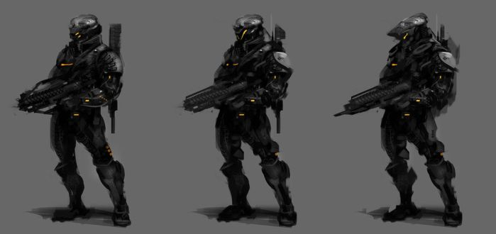 Soldier Concepts by TitikAwalCreative