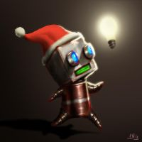 Happy Bot-christmas by Dogsfather