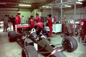 McLaren MP4/4 (Great Britain Tyre Test 1988) by F1-history