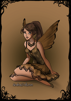 Ginger the Fairy by PiccoloFreakNamick