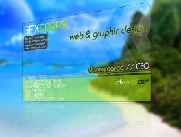 GFXCORPS.com Business Card 2 by D-Garcia