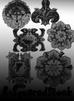Ornament Brushes by B-SquaredStock