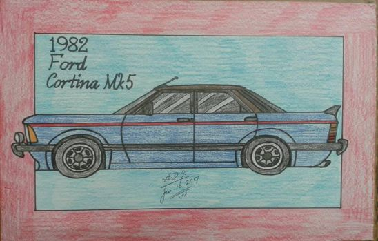 1982 Ford Cortina Mk5 by adrian154