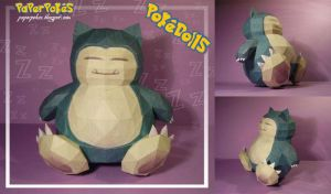 Snorlax Pokedoll by Lyrin-83