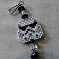 Storm Trooper Key Chain by agorby00