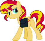 Sunset Shimmer (Human Color) by ChainChomp2