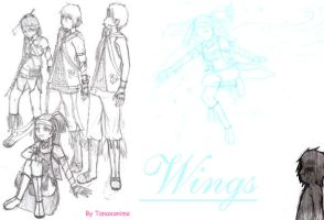 Wings- Characters by Tanaxanime