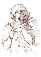 DRAMAtical Murder - Clear sketch by Lehanan
