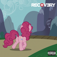 Eminem - Recovery - Cover 1 (Pinkie Pie) by AdrianImpalaMata