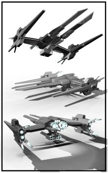 ShadowHawk Starfighter by TheAenigma