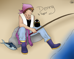 Harvest Moon: Denny and Popper by KayMarie94