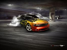 my dream mustang 2 by daz1200