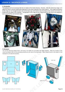 Gundam mecha cosplay tutorial - Lesson 10 - 1 by Clivelee