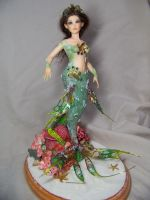 'Asherah'  ooak mermaid by AmandaKathryn