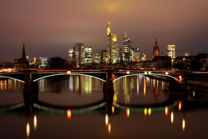 Frankfurt Skyline V by kine80
