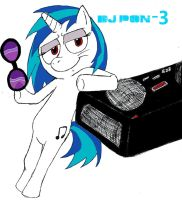 Vinyl Scratch by trickguyshy
