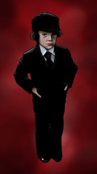 Damien from 'The Omen' by AnatomicalBomb